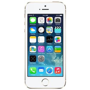 iPhone 5S - 16GB - Silver - Ny skärm - Klass A