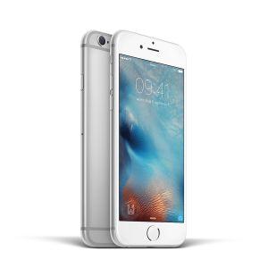 iPhone 6S- 64GB - Silver - Ny skärm - Klass A+