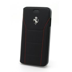Ferrari Plånboksfodral leather (Svart)