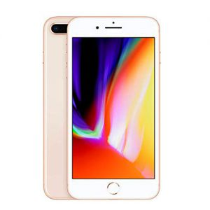iPhone 8 Plus - 64GB (Rose gold) (3/Hallon), Klass A+ Ny skärm