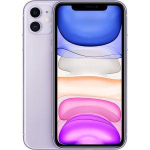 iPhone 11  - 64GB (Lila), Ny skärm Klass A (Ram Klass B+)