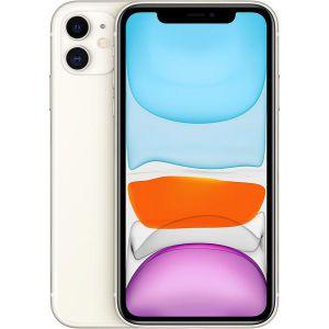 iPhone 11  - 64GB (Vit), Ny skärm Klass A *Utan Face-ID*