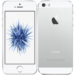 iPhone SE (16GB ) Silver, Ny skärm, Ram Klass B+