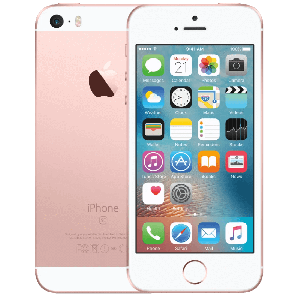 iPhone SE - 16GB - Rosé Gold-  Klass A+, Ny skärm
