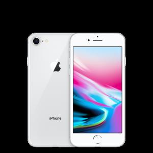iPhone 8 - 64B - Ny skärm & baksida - Klass B