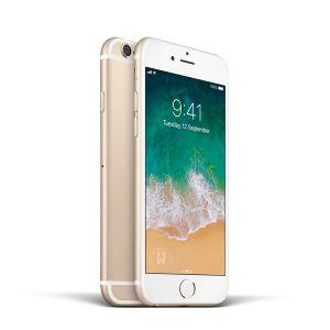 iPhone 6 - 64GB (Guld) - Ny skärm Klass A