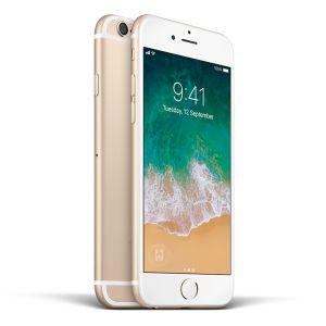 iPhone 6 Plus - 16GB (Silver) - Ny skärm, Nytt BatterKlass B+