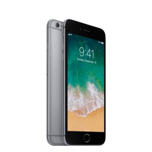 iPhone 6S - 16GB - Svart- Ny skärm - Klass A