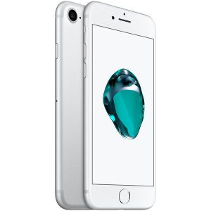iPhone 7 - 128GB (Silver) - Ny skärm, Nytt batteri, Klass A+