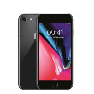 iPhone 8 - 256GB - Svart (Klass A) Ny skärm, nytt batteri