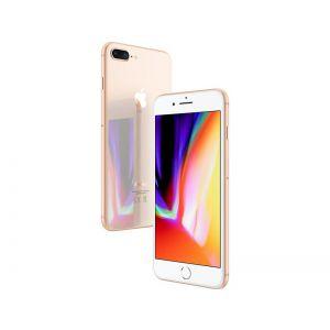 iPhone 8 Plus - 256GB (Rose gold), Ny skärm, ram klass B+