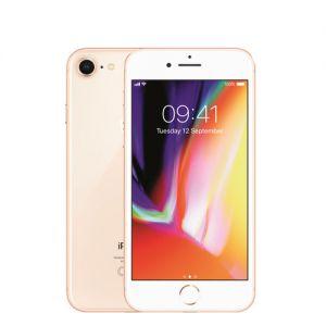 iPhone 8 - 64GB - Rosé -Klass A+, Ny skärm, Nytt batteri