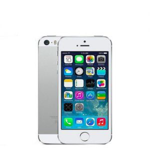 iPhone 5S - 16GB - Silver - Ny skärm - Klass B+