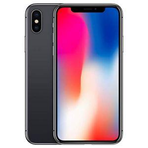 iPhone X - 64GB (Svart) - Klass A+, Ny skärm