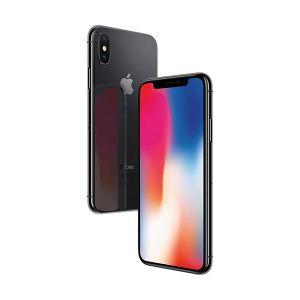 iPhone X - 256GB (Svart) - Klass A+, Ny skärm