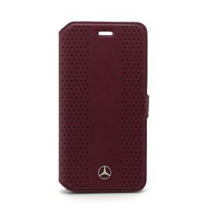 Mercedes läder plånboksfodral (Brun)