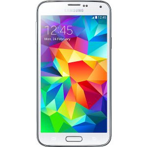 Samsung Galaxy S5 - 16GB (Vit) - Ny skärm *DEMO
