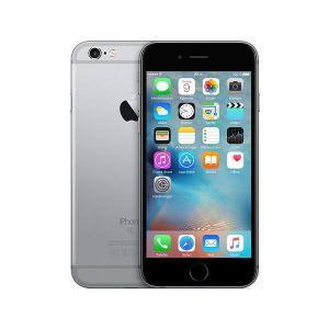 iPhone 6S- 128GB - Svart - Ny skärm - Klass A+