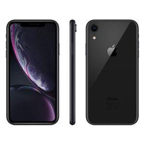 iPhone XR - 64GB (Svart) Ny skärm (Ram Klass B+)