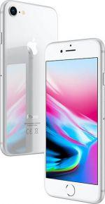 iPhone 8 - 64GB - Silver - Ny Skärm - Klass A+