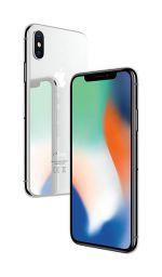 iPhone X - 64GB (Svart) - Klass B+ Ny skärm