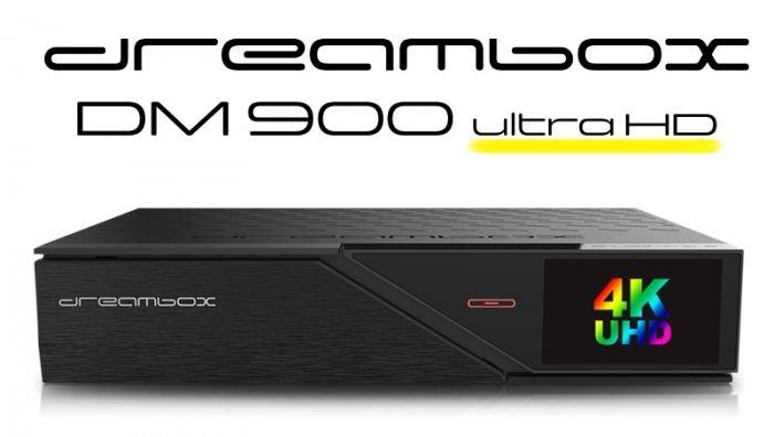 Dreambox DM900 4K (2xS2)