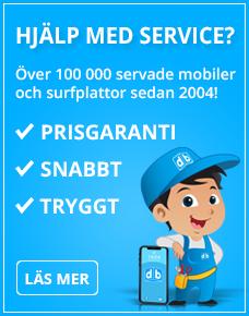 Trygg service av din mobil och surfplatta